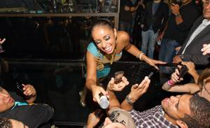 Mya Performs at Vanity