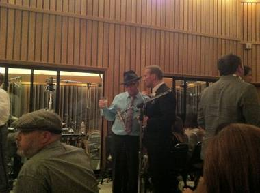 Matt Goss and his backing band were recorded by producer Ron Fair at Capitol Studios on Thursday night. The only quibble: No Dirty Virgins.