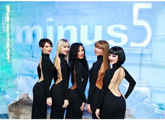 <em>Crazy Horse Paris</em> at Minus 5 Ice Bar at the ...