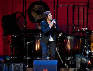 Josh Groban's 2011 Straight to You Tour stop at MGM Grand Garden Arena on Aug. 20, 2011.