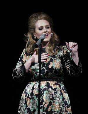 Adele performs at Chelsea at the Cosmopolitan on Aug. 20, 2011.