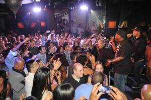 Michael Rapaport and Phife Dawg at Lavo