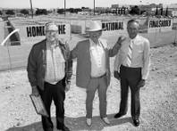From left, Herb McDonald, Benny Benion and Ralph Lamb promoting the NFR May 5, 2012.