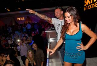 JWoww and Roger Matthews at Pure