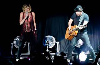 Sugarland, with guest Sara Bareilles, at Mandalay Bay Events Center on Aug. 27, 2011.