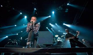Linkin Park's A Thousand Suns world tour stop at The Joint in the Hard Rock Hotel on Aug. 30, 2011.