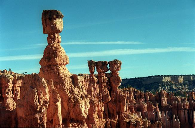 Bryce Canyon in south-central Utah.
