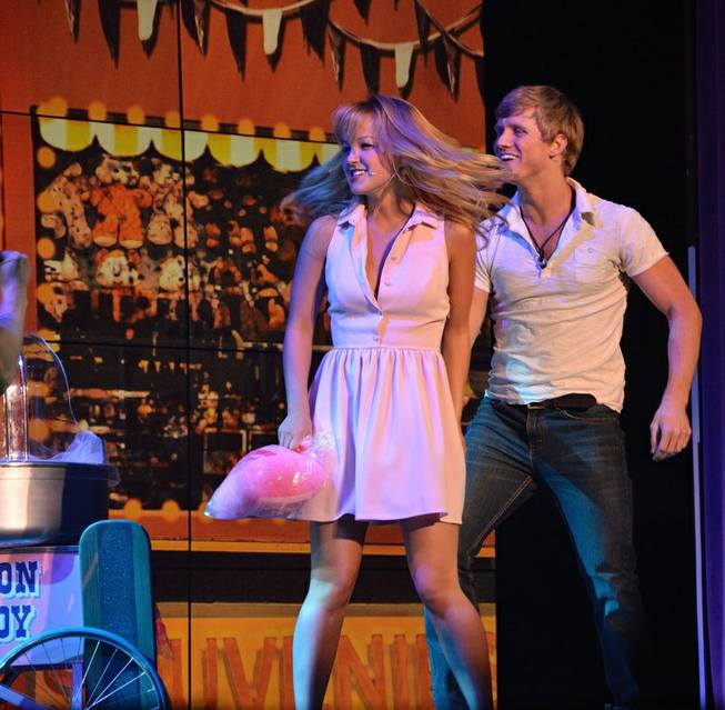 """Surf: The Musical"" at Planet Hollywood."