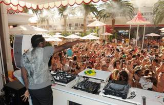Will.i.am at Encore Beach Club on Sept. 2, 2011.