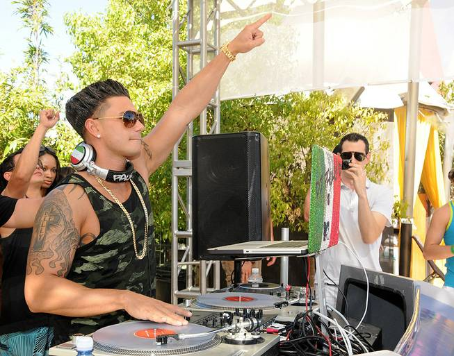 DJ Pauly D at Ditch Fridays at Palms Pool & Bungalows on Sept. 2, 2011.