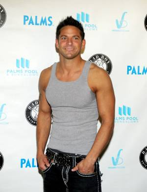 Jeff Timmons at Diddy's Palms Pool party at the Palms on Sept. 4, 2011.