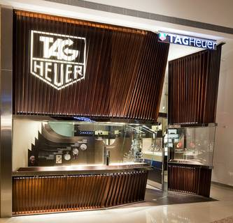 Tag Heuer at Crystals
