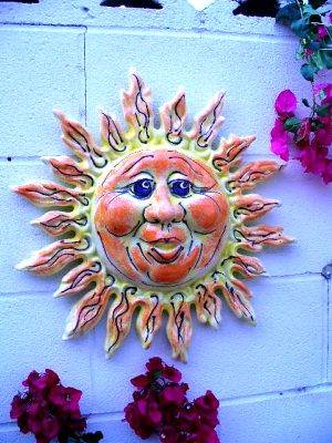 A piece of wall art by DeCasas Ceramics, one of the companies expected to appear at the Harvest Festival this weekend.