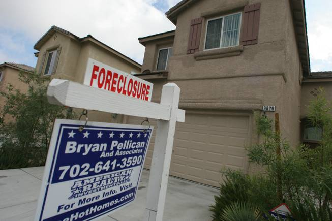 The number of Nevadans who are underwater on their mortgages is down, but only because many have lost their homes to foreclosure, a report says.