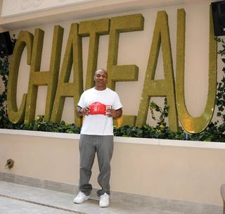 Mike Tyson's meet-and-greet at Chateau Nightclub & Gardens at the Paris on Sept. 16, 2011.