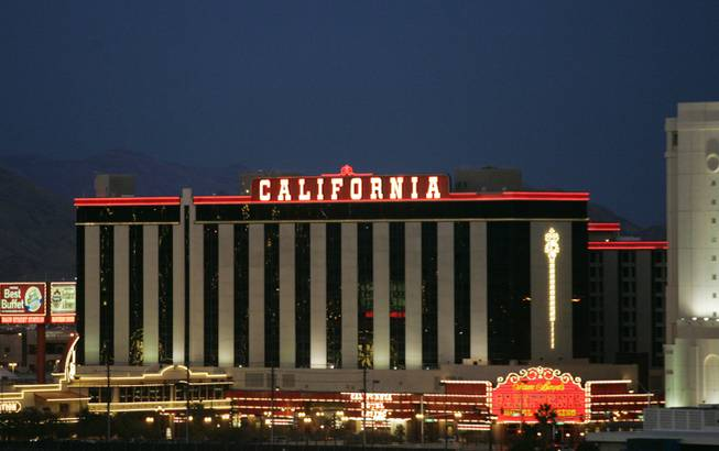 Boyd Gaming's California Hotel and Casino.