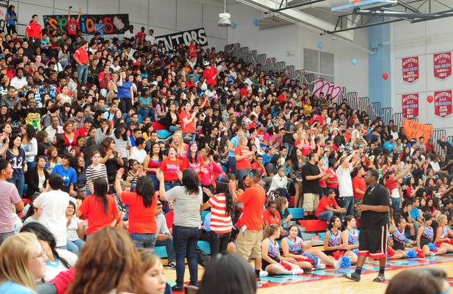 Western High School held its first pep rally of the year on Friday, Sept. 16, 2011.