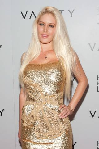 Heidi Montag celebrates her 25th birthday at Vanity at the Hard Rock Hotel on Sept. 16, 2011.