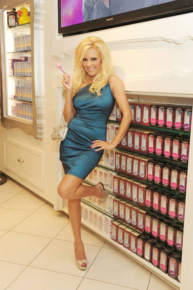 Bridget Marquardt shops at Sugar Factory at Paris Las Vegas on Sept. 16, 2011.