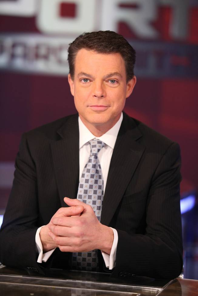Shepard Smith, shown on the Fox News Channel set.