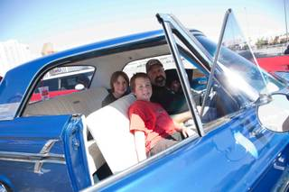 The Barrett-Jackson Road Rally on Sept. 21, 2011.