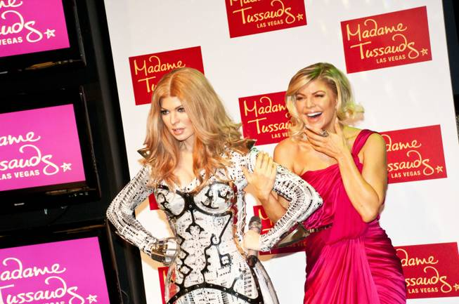 Fergie At Madame Tussauds