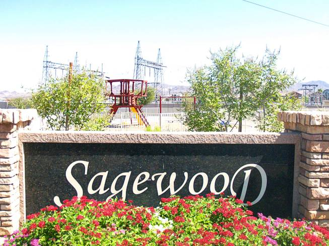 A view of the Sagewood community in Henderson Monday, Sept. 26, 2011.