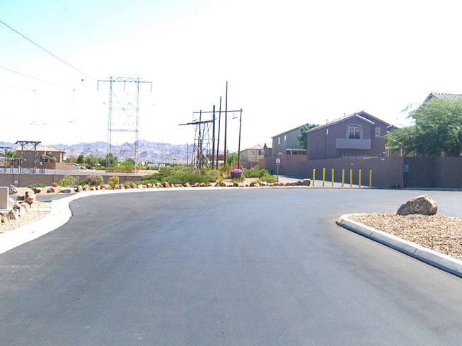 A street view in the Sagewood community in Henderson Monday, Sept. 26, 2011.