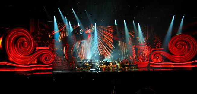 Elton John's <em>The Million Dollar Piano</em> at Caesars Palace on Sept. 28, 2011.