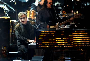 Elton John's The Million Dollar Piano at Caesars Palace on Sept. 28, 2011.
