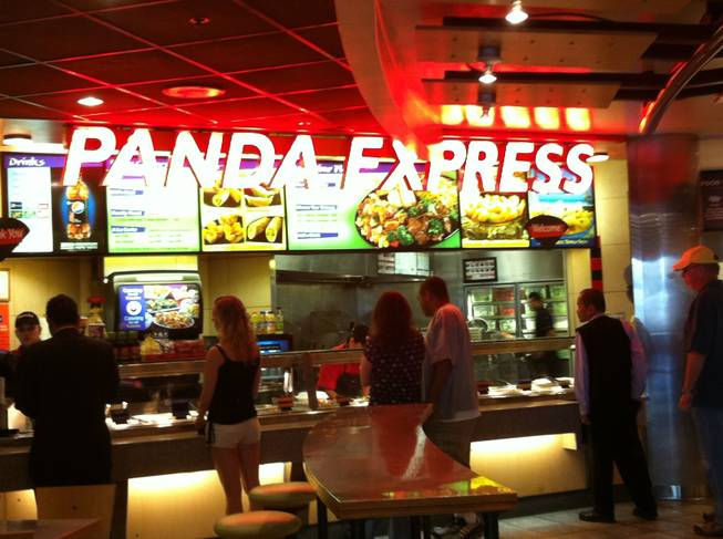 Panda Express in the food court between Harrah's and Casino Royale