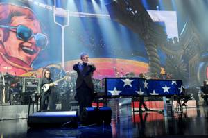 "Elton John's ""The Million Dollar Piano"" on Wednesday, Sept. 28, 2011, at the Colosseum in Caesars Palace."