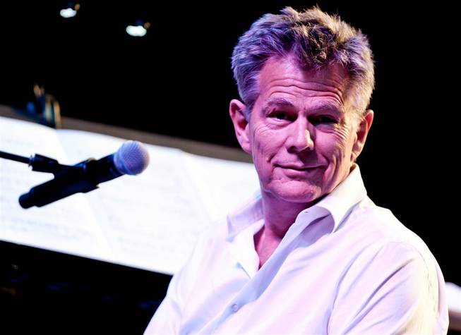 David Foster rehearses with his musicians at Mandalay Bay Events Center on Sept. 30, 2011.