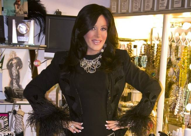 Imperial Palace headliner Frank Marino dressed as Patti Stanger of ...