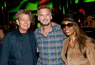 David Foster rehearses with Donna Summer, Kenny Loggins, Charice, Ruben Studdard, Erik Gomez, Angel Blue, The Overtones and his musicians at Mandalay Bay Events Center on Oct. 1, 2011.