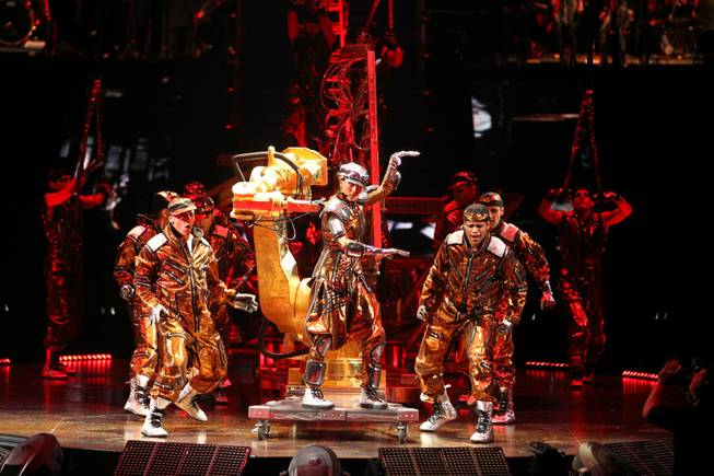 Cirque du Soleil's <em>Michael Jackson: The Immortal World Tour</em>. The world premiere of <em>Immortal</em> was in Montreal, the location of Cirque headquarters, on Oct. 2, 2011.