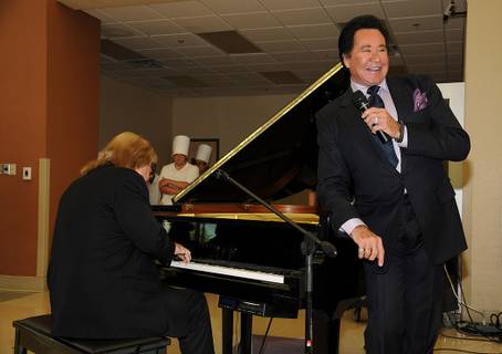 Wayne Newton at Opportunity Village