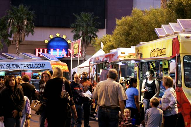 Food vendors, DJs and clothing merchants will be on hand for the Vegas StrEATS Festival.