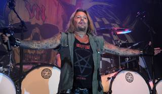 Vince Neil performs at Eastside Cannery on Oct. 14, 2011.
