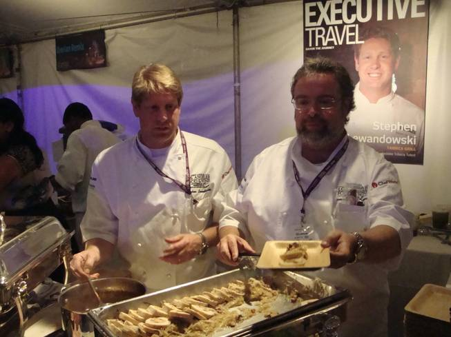 The inaugural L.A. Food and Wine Festival at Nokia Plaza's L.A. Live on Oct. 15, 2011.
