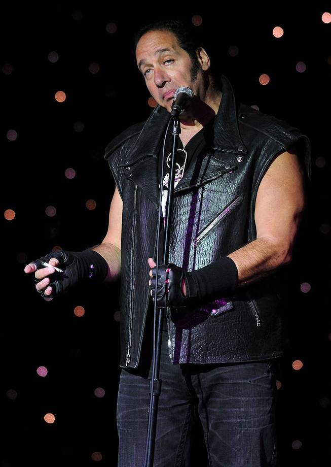 Andrew Dice Clay at the Riviera on Oct. 20, 2011.