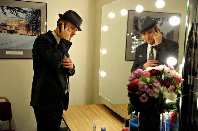 Matt Goss backstage at Royal Albert Hall in London on Oct. 21, 2011.