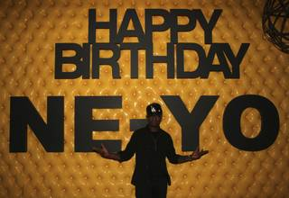 Ne-Yo celebrates his 32nd birthday at Surrender at Encore on Oct. 22, 2011.