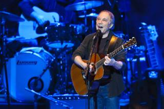 Paul Simon performs at The Colosseum in Caesars Palace on Oct. 24, 2011.