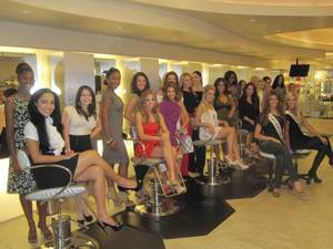 Shanna Moakler hosts Miss Nevada USA Pageant recruitment at Amp Salon in the Palms on Oct. 23, 2011.