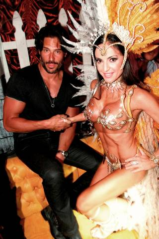 Joe Manganiello at Surrender Nightclub in the Encore on Oct. 26, 2011. DJ Nervo spinned for partygoers.