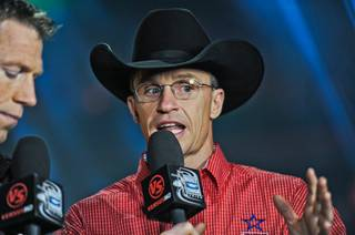 The second day of the 2011 PBR World Finals at the Thomas & Mack Center on Oct. 27, 2011.