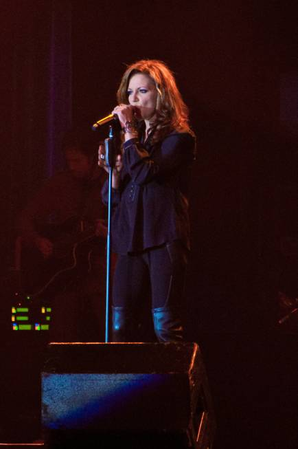 Martina McBride performs at Green Valley Ranch on Oct. 28, ...