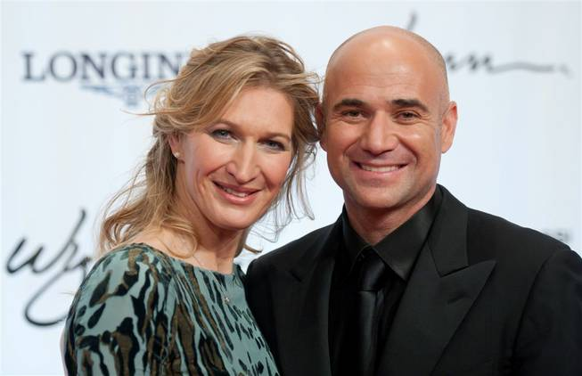 The Andre Agassi Grand Slam for Children red carpet and benefit gala at Wynn Las Vegas on Oct. 29, 2011. Performers included Jimmy Kimmel, Smokey Robinson, Martina McBride, Jeffrey Ross, Train, Signature and Michael Buble.