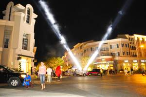 The District at Green Valley Ranch was transformed into a spooky scene on Halloween night Monday, Oct. 31, 2011.